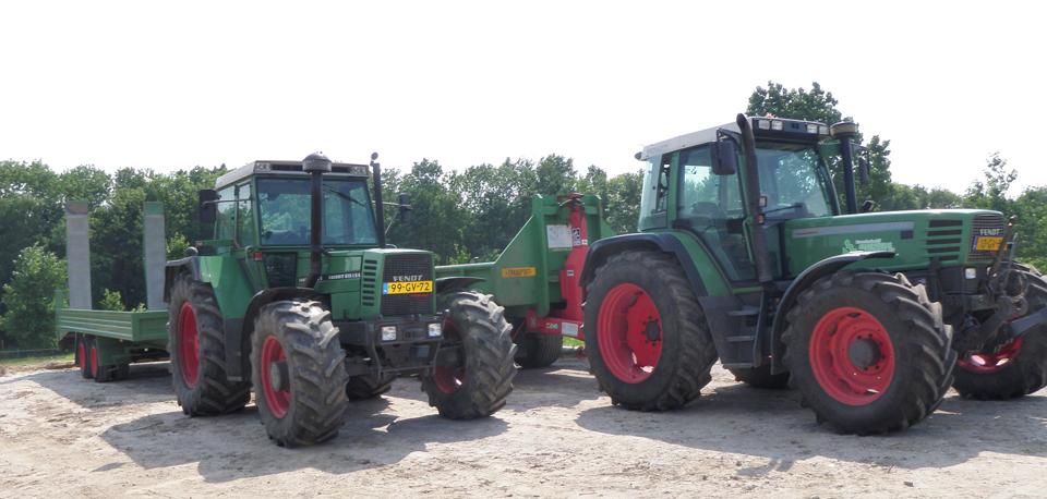Tractor huren limburg